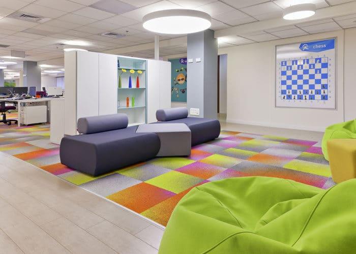 עיצוב משרדים ממותגים לחברת סטארטאפ בהרצליה פיתוח
