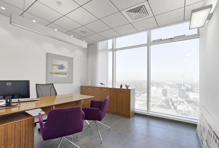 עיצוב משרד מנהל במשרד עורכי דין
