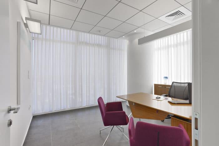 חדר מנהל במשרד עורכי דין