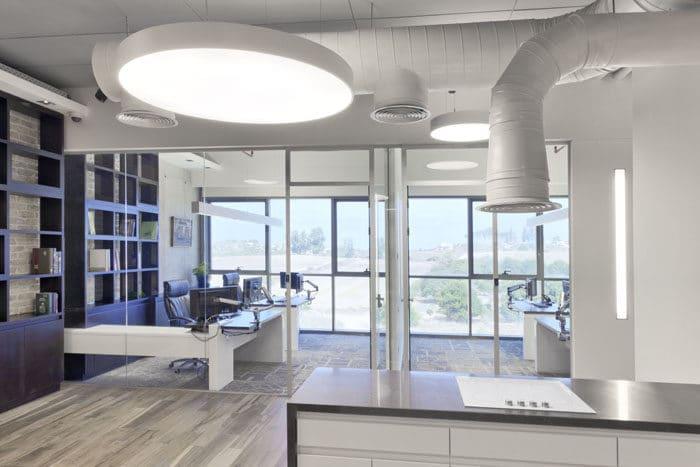 עיצוב משרד ללא דלפק קבלה