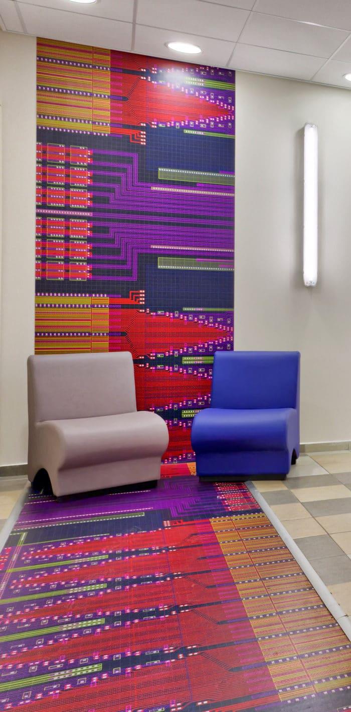 עיצוב מבואת כניסה לפי תחום עיסוק חברת הייטק