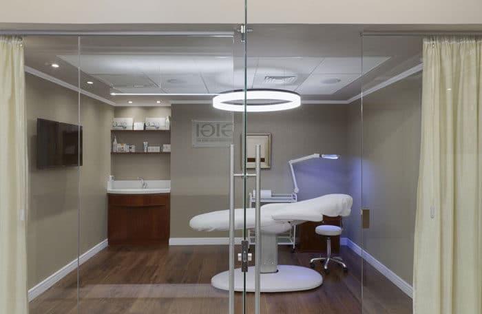 עיצוב חדר טיפולים במשרדי חברת קוסמטיקה