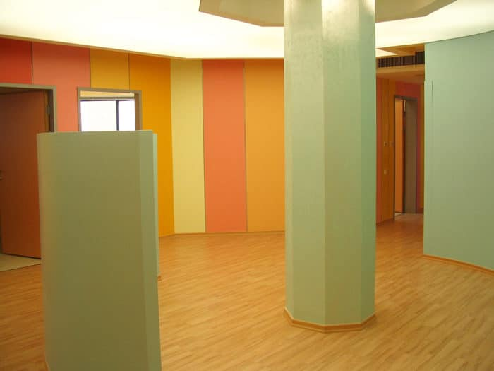 עיצוב צבעוני למרפאה להתפתחות הילד