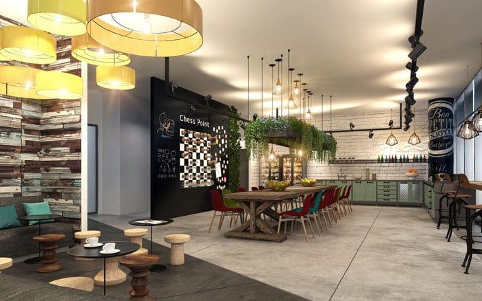 עיצוב משרדים לעידוד שיתוף בין העובדים