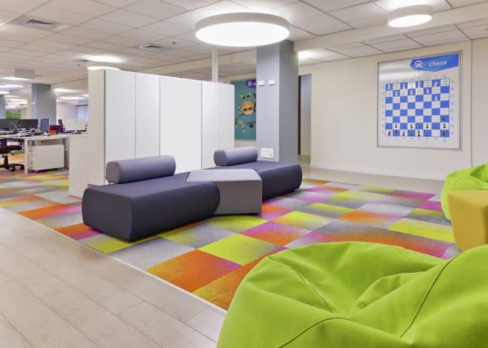 עיצוב משרדים לחברת הייטק בהרצליה פיתוח