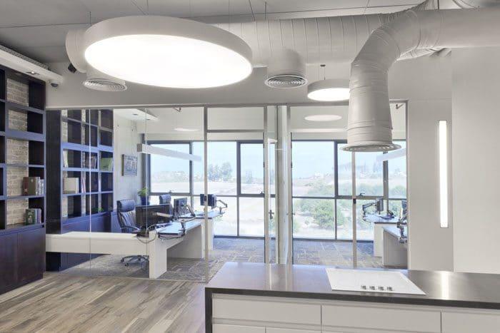 עיצוב משרד באווירה ביתית