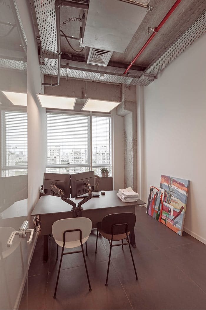 עיצוב חדר מנהל
