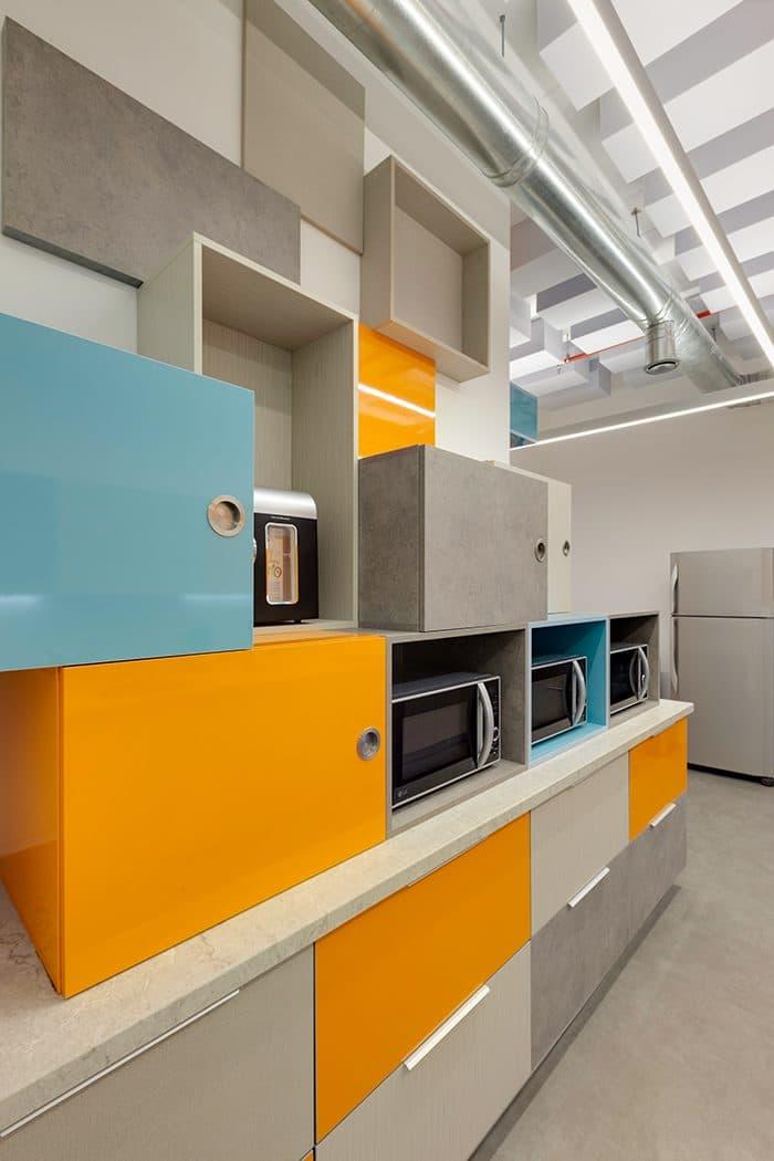 עיצוב קפיטריה משרדית