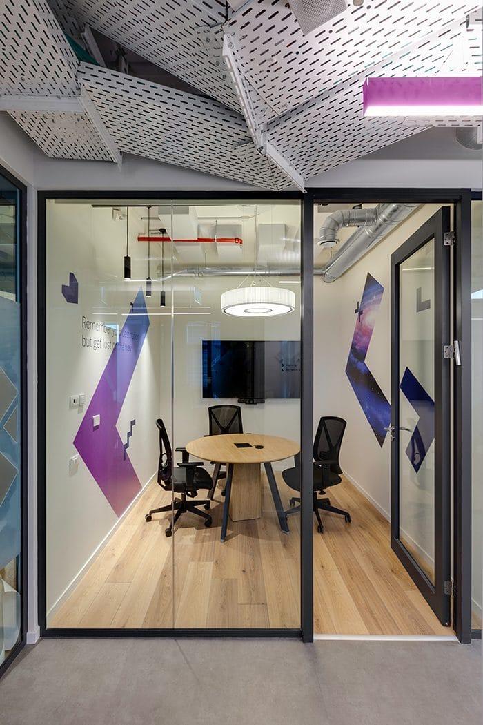 עיצוב חדר פגישות קטנות