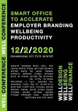 save the date for well conference 12.2.20